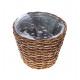 Plant basket Paresrund, diameter 21cm, height 17cm